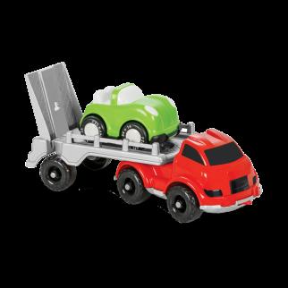 Autovežis su automobiliu
