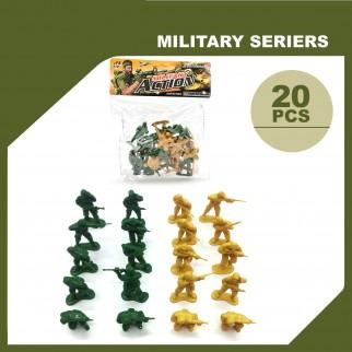 Žaislinių kareivėlių...