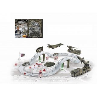 Žaislinė karinė trasa su...