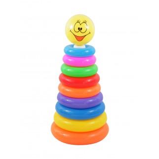 Žaislinė piramidė - žiedai