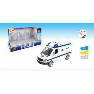 Inercinė policijos mašina...