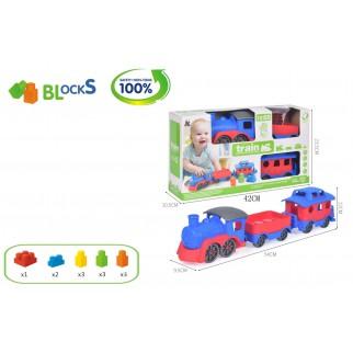 Žaislinis traukinukas su...
