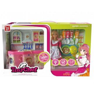 Žaislinis lėlių virtuvės...