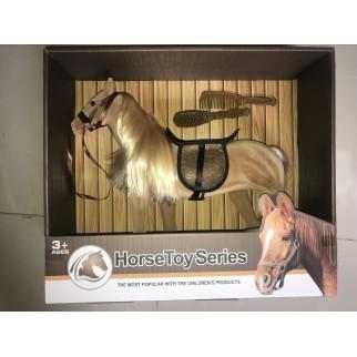 Žaislinis arklys su priedais