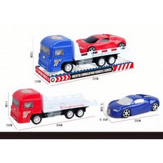 Inercinis žaislinis autovežis