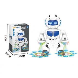 Žaislinis šokantis robotas