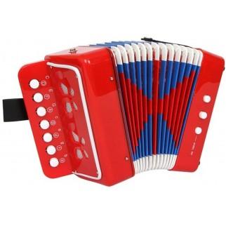 Vaikiškas žaislinis akordeonas