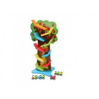 Medinis žaidimas - autotrasa